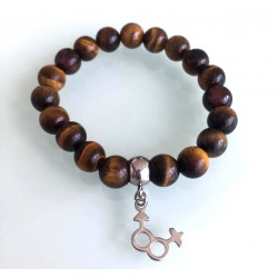 Bracelet Femme - Œil de Tigre